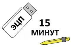 ЭЦП - Все виды электронной подписи. Выпуск за 15 мин