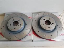 Диск тормозной передний вентилируемый перфорированный G-Brake 5X114.3
