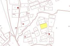 Продам земельный участок. 1 500кв.м., собственность, электричество. План (чертёж, схема) участка