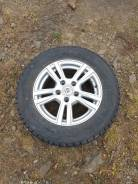 Колеса 205/65/R15 5x114,3 на жирной зиме.