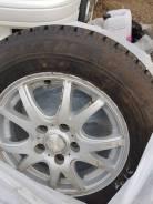Колеса Bridgestone Blizzak Revo GZ 195/65/R15 5x114,3 на зиме.