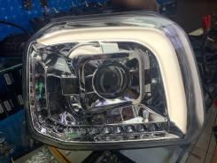 Фары диодные с линзой для Suzuki Jimny 07-15г