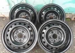 Продам штампованные диски Subaru R15 5/100 бп по рф
