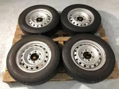 195/70 R15 LT Bridgestone RD-613 Steel + Штамповка 6*139,7 №5 (Japan)