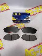 Колодки тормозные дисковые Hi-Q SP-1107F [PF-2201]