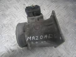 Расходомер воздуха Mazda 626 GF [рестайлинг] (1999-2002) [f82f12b579da f82f-12b579-da, afh60-14]