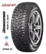 Bridgestone Blizzak Spike-01. зимние, шипованные, б/у, износ до 5%