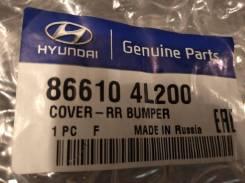 Hyundai Solaris 10-14. Бампер задний хэтчбек. 866104L200.