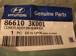 Sonata NF 04-09. Бампер задний. 866103K001.