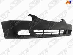 Бампер Hyundai Accent(Тагаз) 03- под туманки