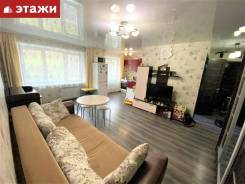 3-комнатная, улица Адмирала Кузнецова 68. 64, 71 микрорайоны, агентство, 42,9кв.м. Интерьер