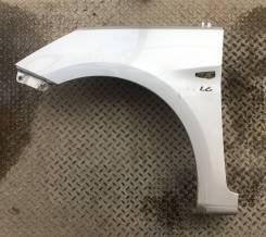 Крыло переднее левое оригинальное Hyundai Solaris [серебро RHM]
