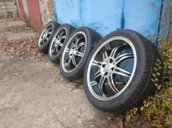"Топовые колёса Luxury на шинах Pirelli 215/40/17 без пробега по РФ. 6.5x17"" 4x100.00 ET42 ЦО 73,1мм."