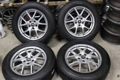 Комплект Зимних красивых колес A-tech R17 5/114.3 7J+38 Toyo 225/60