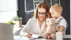 Удаленая работа для мам в дикрете, подработка