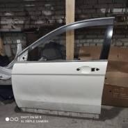Дверь передняя левая белая Honda CR-V RE4 2006 г K24A
