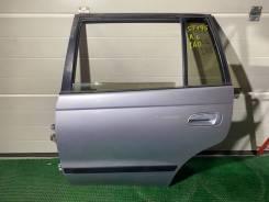 Дверь задняя левая Toyota Caldina ST195 1A0