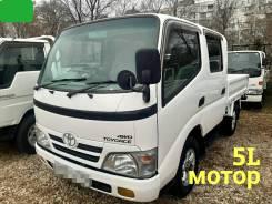Toyota ToyoAce. 4WD, двухкабинник + борт 1,5 тонны, 3 000куб. см., 1 500кг., 4x4