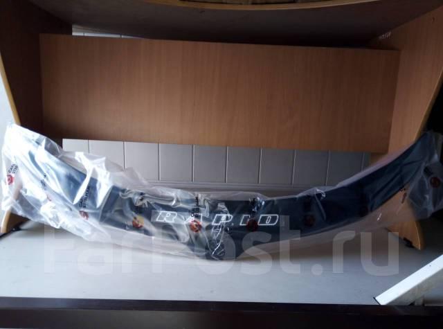 Дефлектор капота (мухобойка) Skoda Rapid 2013г-2019г