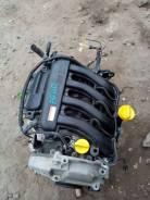 Двигатель видео проверки! Renault Clio III 1,6 K4M пробег 15,408км!