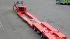 Berger. Раздвижной модульный трал с передним заездом, 65 000кг. Под заказ
