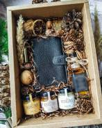 Подарок мужчине! Подарочный набор с портмоне из натуральной кожи!