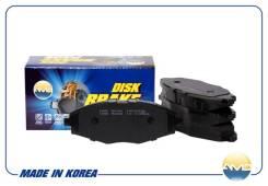 Колодка дискового тормоза 96273708 / amd.bf174 amd AMD Amdbf174 AMDBF174