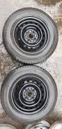Зимняя резина 185/70 R14 на металлических дисках 4х100 4шт