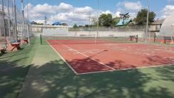 Продается участок с кортами для тенниса и ангаром. 3 778кв.м., собственность, электричество. Фото участка