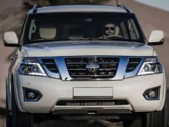 Бампер передний рестайлинг для Nissan Patrol Y62 ( Патрол 2015)