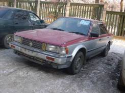 Дверь боковая передняя левая на Nissan Bluebird 1984г