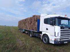 Scania R124. Продам тягач с полуприцепом, 12 000куб. см., 20 000кг., 4x2
