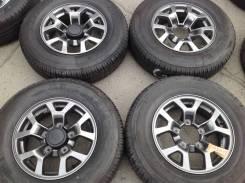 "195/80R15 Bridgestone лето, диски оригинал Suzuki 5x139.7 Japan. 5.5x15"" 5x139.70 ET5 ЦО 108,1мм."