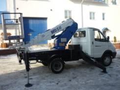 Випо-12. Автогидроподъемник ВИПО-12-01 на шасси ГАЗ 3302, 2 800куб. см., 12,00м.