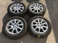 195/60 R15 Dunlop WM02 литые диски 5х114.3 (K25-1503)