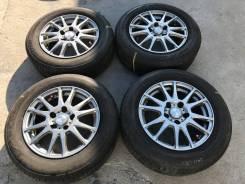 195/65 R15 Bridgestone EX20RV литые диски 5х114.3 (K25-1505)