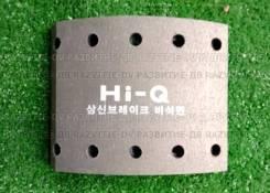 Накладка тормозная Daewoo передняя H=155 10 отв. HI-Q 3454104510, 34541-04510, P3454104510, P34541-04510, P-34541-04510