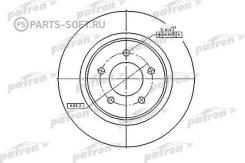 Диск торм. Chrysler 300M 98-04, Concord 98-04, LHS 98-02, Dodge Intrepid 98-04 - обод 16-17