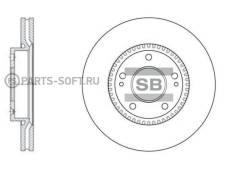 Диск тормозной, передний SD1056