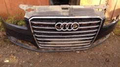 Audi A8 передн бампер 4H0807065jgru 2016г
