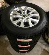 Диски Toyota Land Cruiser 200 с резиной Bridgestone