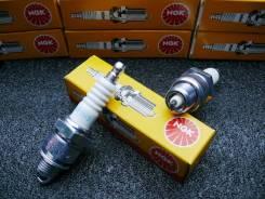 MOTO. Свеча зажигания NGK BPR7HS / 6422, Suzuki, Yamaha BPR7HS