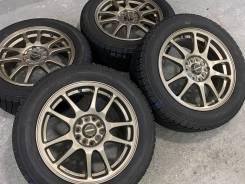 A-Tech Schneider R16 5*100 5*114.3 + 215/60R16 Dunlop Winter Maxx WM01