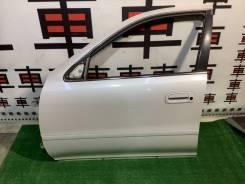 Дверь передняя левая Toyota Cresta 90 цвет 046 #11216