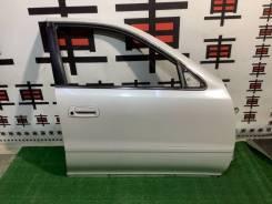 Дверь передняя правая Toyota Cresta 90 цвет 046 #11216