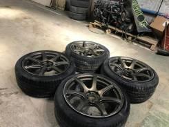 "Work r19 5/114 Pirelli cunturato p1. 8.5/9.5x19"" 5x114.30 ET38/38 ЦО 73,3мм."