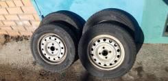 Продам комплект колес R13 4*100 с летней резиной 165/70