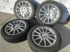 Комплект литых дисков Weds на шинах GoodYear 175/60R16