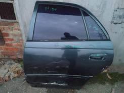 Дверь задняя левая Toyota Carina 1995г AT190