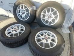 Литые диски A-Tech на шинах Dunlop 165/80R13